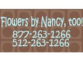 Flowers by Nancy, too! - logo